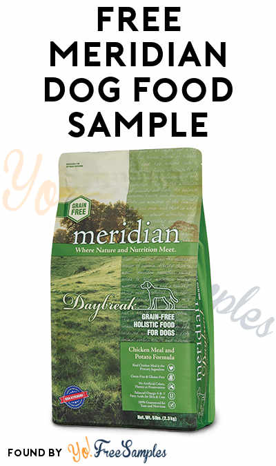 FREE Meridian Dog Food Samples