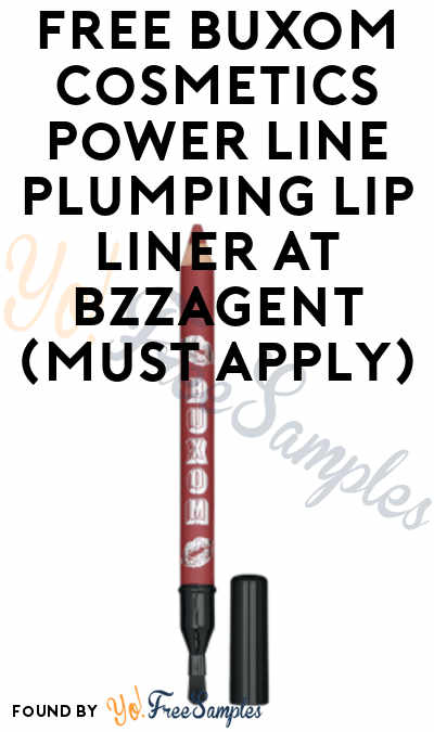 FREE Buxom Cosmetics Power Line Plumping Lip Liner At BzzAgent (Must Apply)