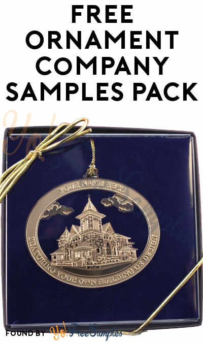 FREE Ornament Company Samples Pack