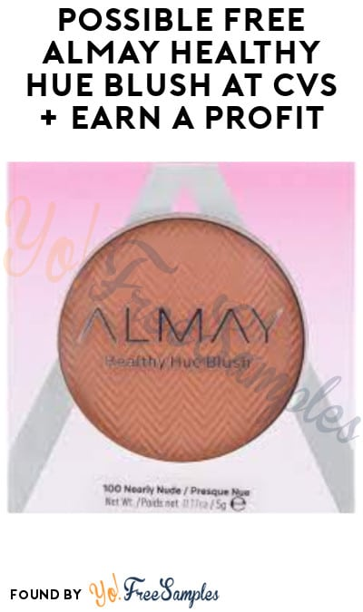 Possible FREE Almay Healthy Hue Blush at CVS + Earn A Profit (App/ Coupon Required)
