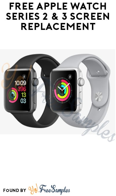 FREE Apple Watch Series 2 & 3 Screen Replacement