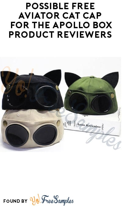 Possible FREE Aviator Cat Cap for The Apollo Box Product Reviewers (Instagram Required)