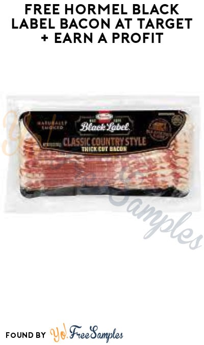 FREE Hormel Black Label Bacon at Target + Earn A Profit (Ibotta Required)