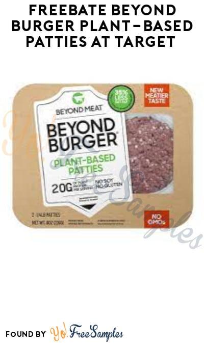FREEBATE Beyond Burger Plant-Based Patties at Target (Ibotta Required)