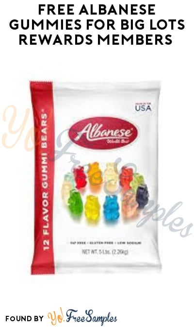 FREE Albanese Gummies for Big Lots Rewards Members