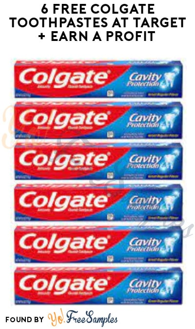 6 FREE Colgate Toothpastes at Target + Earn A Profit (Target Circle & Ibotta Required)