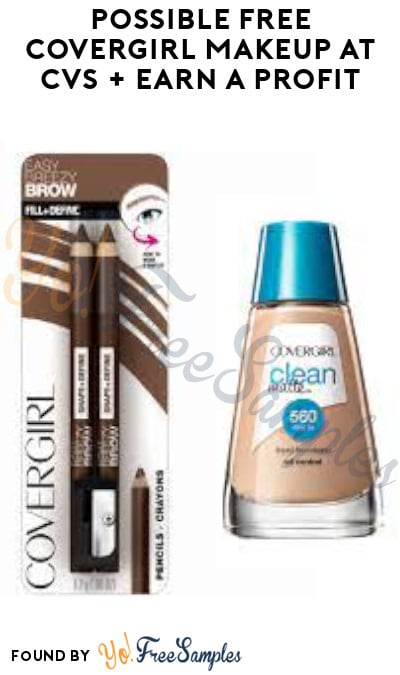 Possible FREE Covergirl Makeup at CVS + Earn A Profit (App/ Coupon Required)