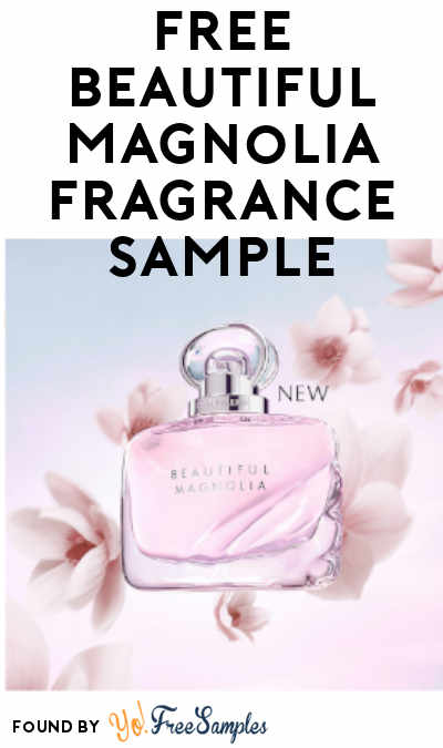 FREE Beautiful Magnolia Fragrance Sample (Email Verification Required)