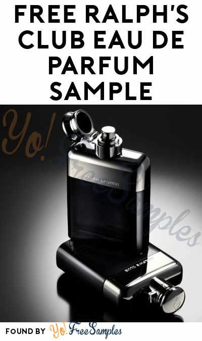 FREE Ralph's Club Eau de Parfum Sample (Email Verification Required)