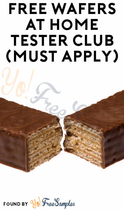 FREE Wafers At Home Tester Club (Must Apply)