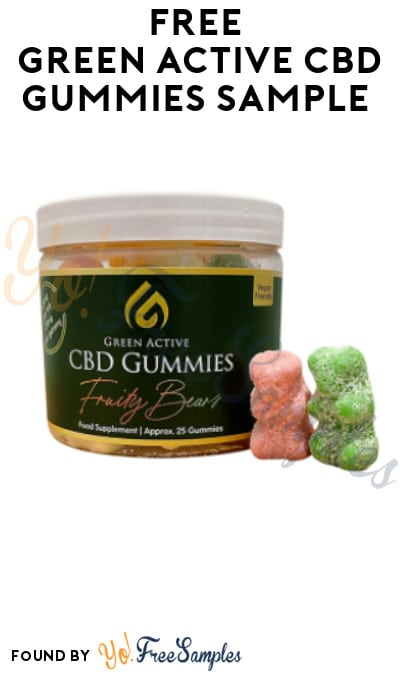 FREE Green Active CBD Gummies Sample (Twitter Required)
