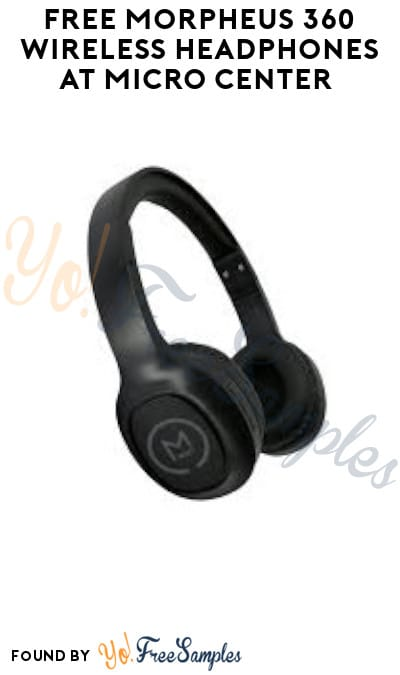 FREE Morpheus 360 Wireless Headphones at Micro Center (Coupon Required)