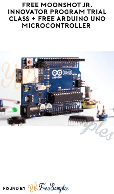 FREE Moonshot Jr. Innovator Program Trial Class + FREE Arduino Uno Microcontroller (Must Register)