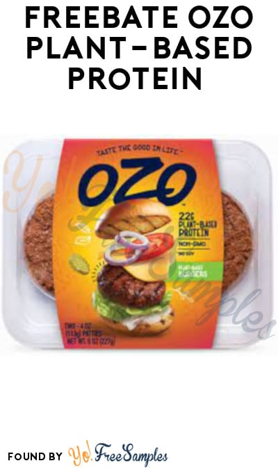 FREEBATE OZO Plant-Based Protein (Fetch Rewards Required)