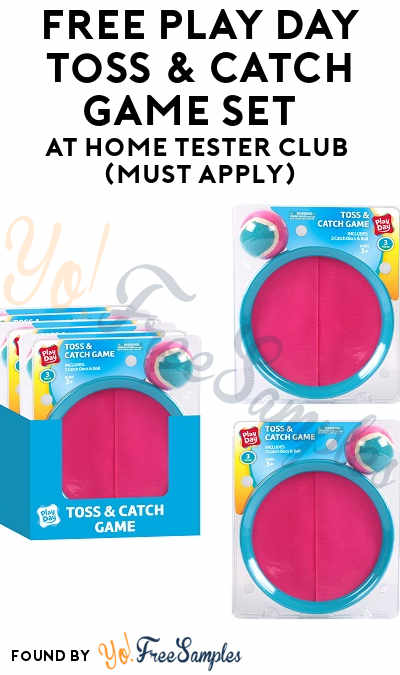 FREE Play Day Toss & Catch Game Set At Home Tester Club (Must Apply)