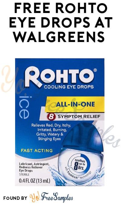 FREE Rohto Eye Drops at Walgreens (Coupon, Code & Ibotta Required)