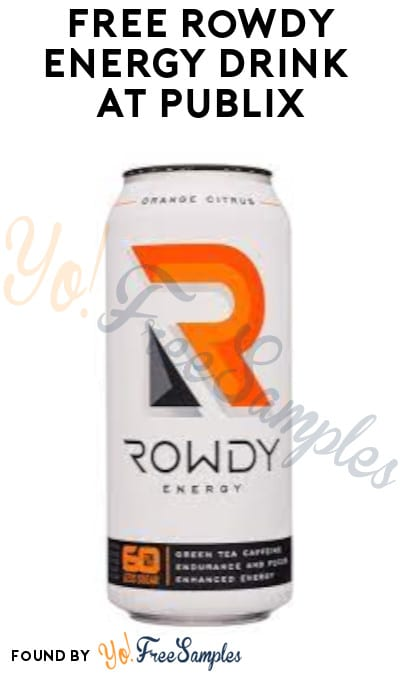 FREE Rowdy Energy Drink at Publix (Account/ Coupon Required)