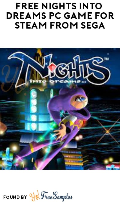 FREE Nights Into Dreams PC Game for Steam from SEGA