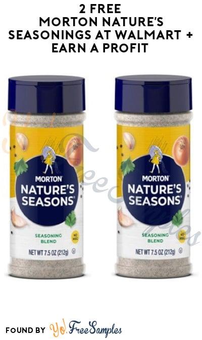 2 FREE Morton Nature's Seasoning at Walmart + Earn A Profit (Swagbucks & Checkout51 Required)