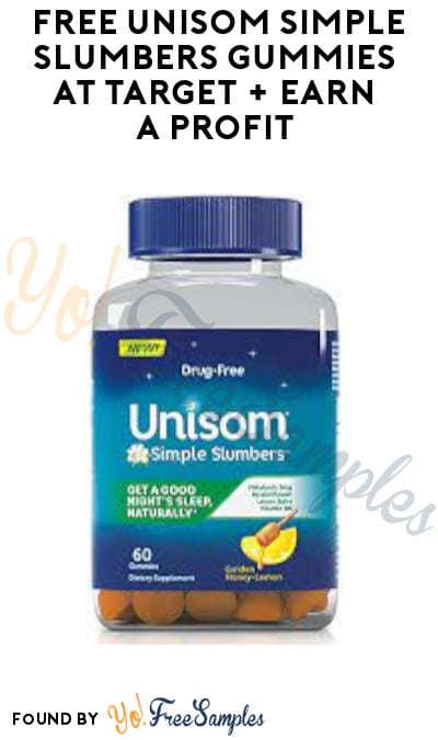FREE Unisom Simple Slumbers Gummies at Target + Earn A Profit (Coupons & Ibotta Required)