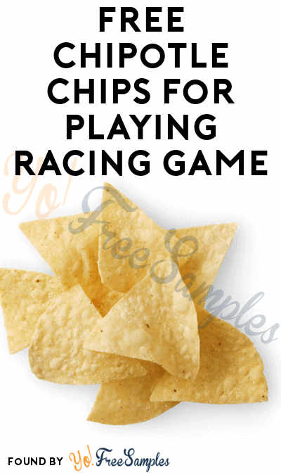 FREE Chipotle Chips For Playing Racing Game