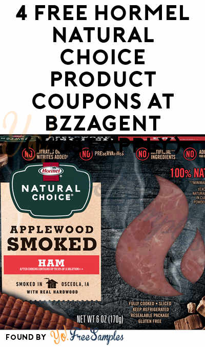 4 FREE Hormel Natural Choice Product Coupons At BzzAgent (Must Apply)