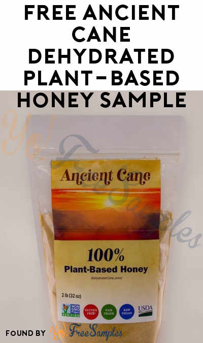 FREE Ancient Cane Dehydrated Plant-Based Honey Sample