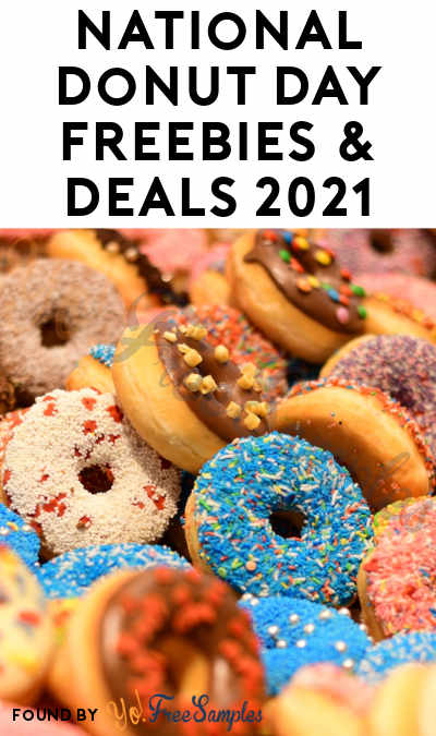 National Donut Day Freebies & Deals 2021