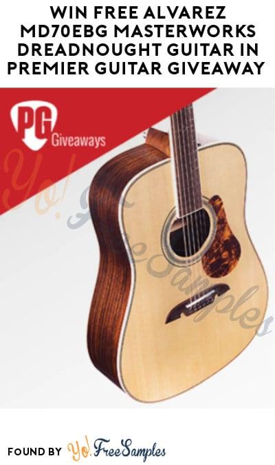 Win FREE Alvarez MD70EBG Masterworks Dreadnought Guitar in Premier Guitar Giveaway