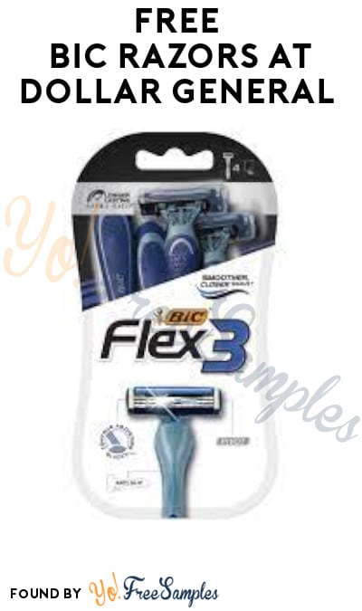 FREE BIC Razors at Dollar General (Account/Coupon Required)