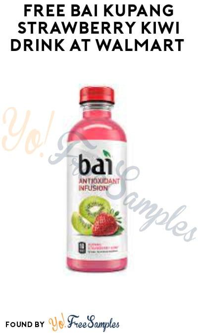 FREE Bai Kupang Strawberry Kiwi Drink at Walmart (Ibotta Required)