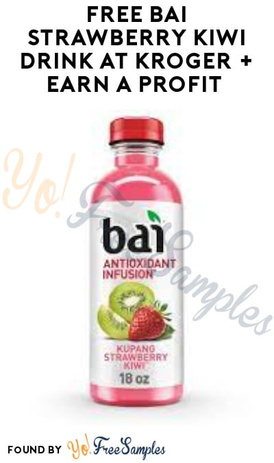 FREE Bai Strawberry Kiwi Drink at Kroger + Earn A Profit (Ibotta Required)