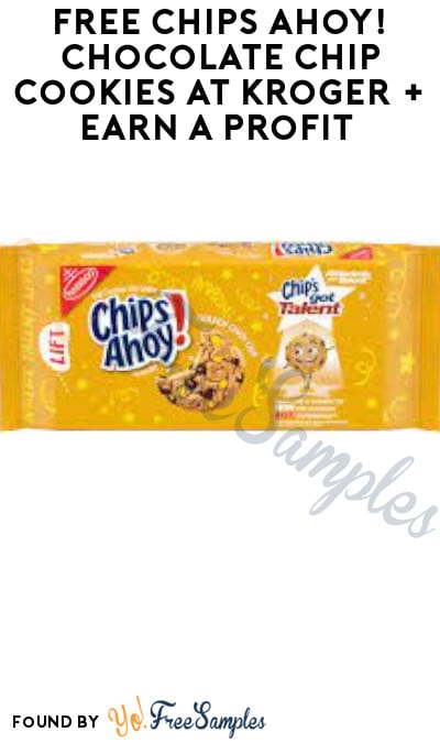 FREE Chips Ahoy! Chocolate Chip Cookies at Kroger + Earn A Profit (Account/ Coupon & Ibotta Required)