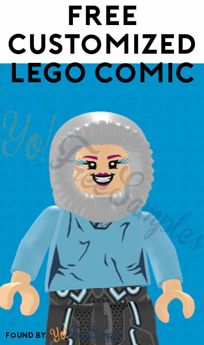 FREE Customized LEGO Comic