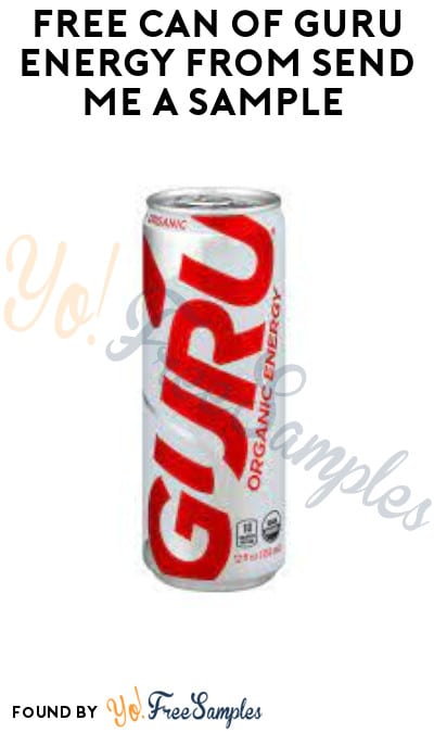 FREE Can of Guru Energy from Send Me A Sample (Voice Assistant Required + Select States/ Regions Only)