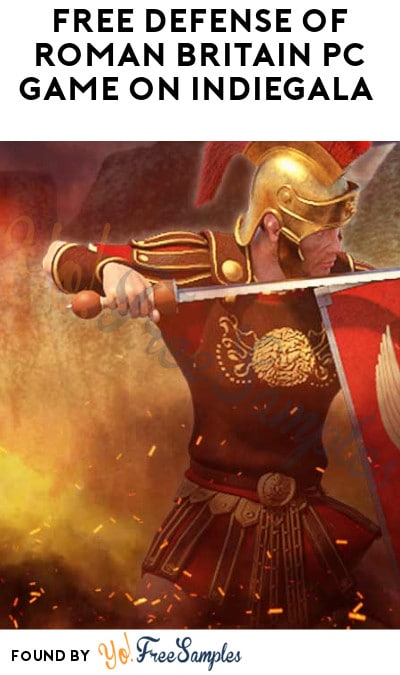 FREE Defense of Roman Britain PC Game on Indiegala (Account Required)