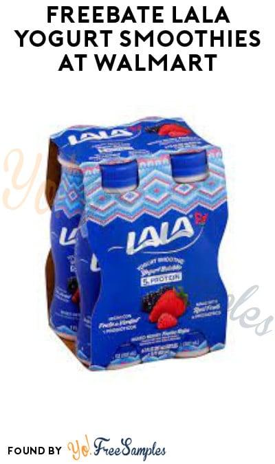 FREEBATE Lala Yogurt Smoothies at Walmart (Ibotta Required)