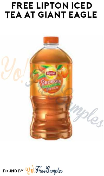 FREE Lipton Iced Tea at Giant Eagle (Account/ Coupon Required)