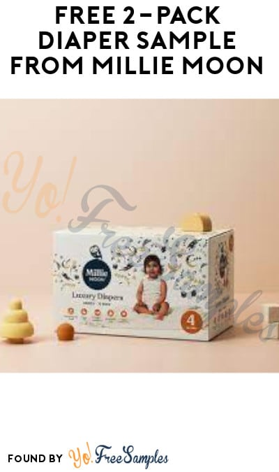 FREE 2-Pack Diaper Sample from Millie Moon