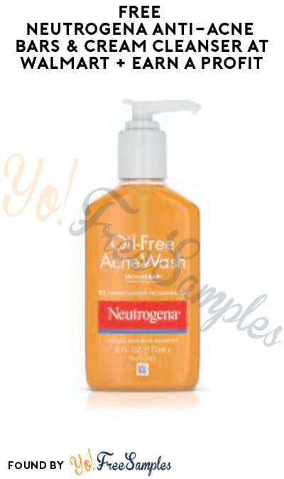 FREE Neutrogena Anti-Acne Bars & Cleanser at Walmart + Earn A Profit (Ibotta + Coupons App Required)