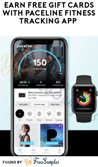 Earn FREE Gift Cards with Paceline Fitness Tracking App (Code Required)