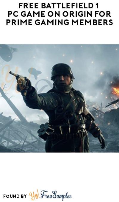 FREE Battlefield 1 PC Game on Origin for Prime Gaming Members