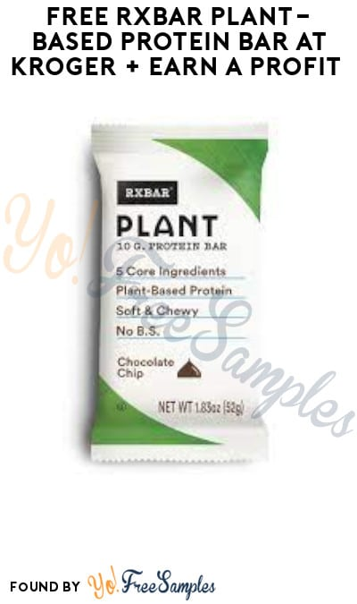 FREE RXBar Plant-Based Protein Bar at Kroger + Earn A Profit (Account/ Coupon & Ibotta Required)