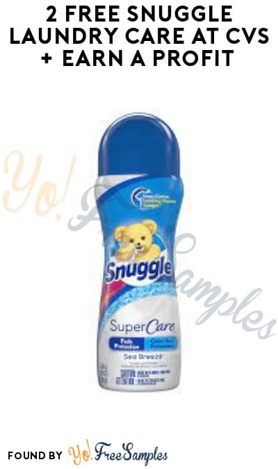 2 FREE Snuggle Laundry Care at CVS + Earn A Profit (App/ Account & Coupon Required)