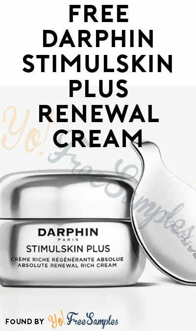 FREE Darphin Cream, Toner or Serum At BzzAgent (Must Apply)
