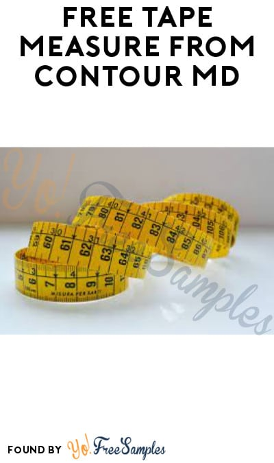 FREE Tape Measure from Contour MD
