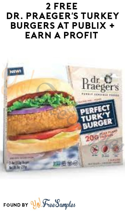 2 FREE Dr. Praeger's Turkey Burgers at Publix (Account/ Coupon + Fetch Rewards Required)