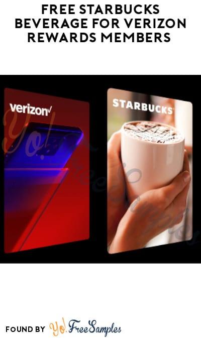 FREE Starbucks Beverage for Verizon Rewards Members (Both Apps Required)