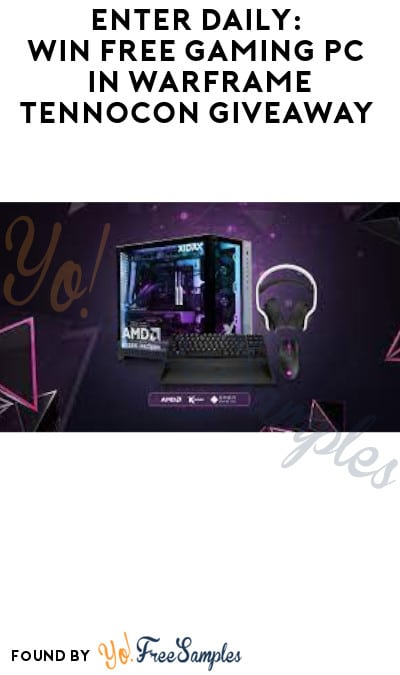 Enter Daily: Win FREE Gaming PC in Warframe TennoCon Giveaway
