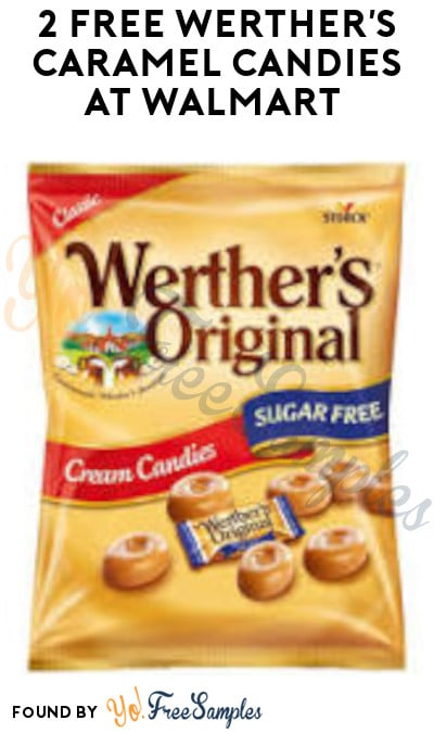 2 FREE Werther's Caramel Candies at Walmart (Swagbucks Required)